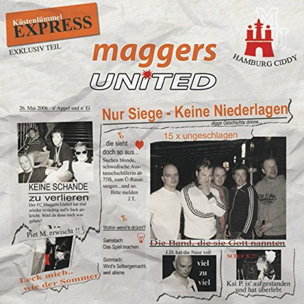 Maggers United - Nur Siege keine Niederlagen - CD