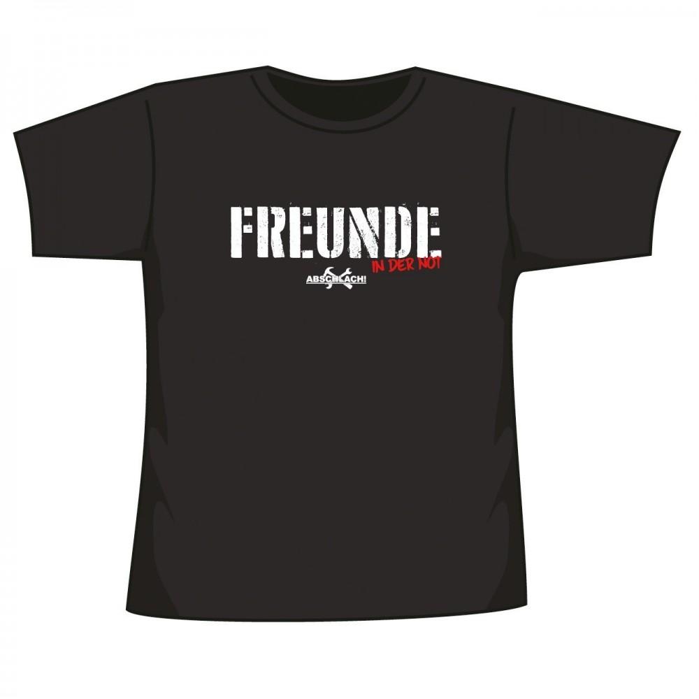 Abschlach! - Freunde - T-Shirt