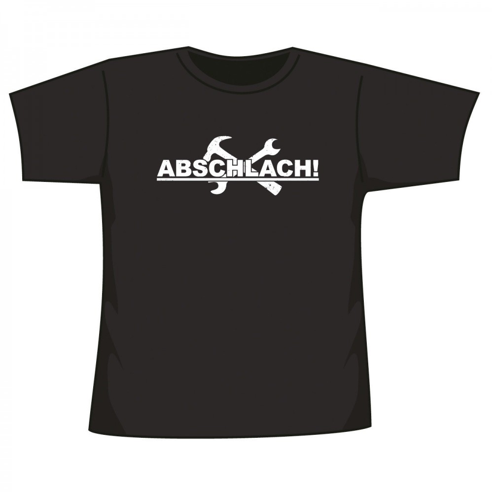 Abschlach! - Logo NEU - T-Shirt
