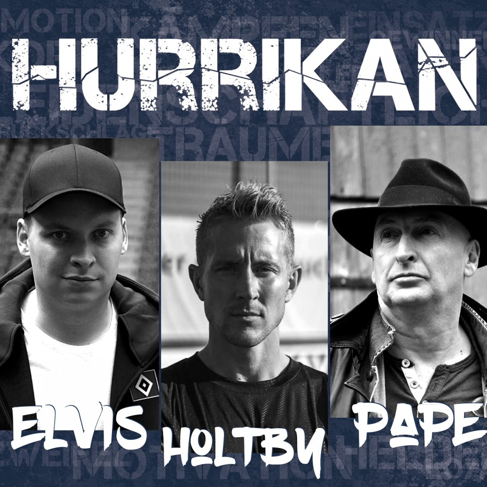 Elvis & Pape mit LEWIS HOLTBY - Hurrikan - Maxi-CD