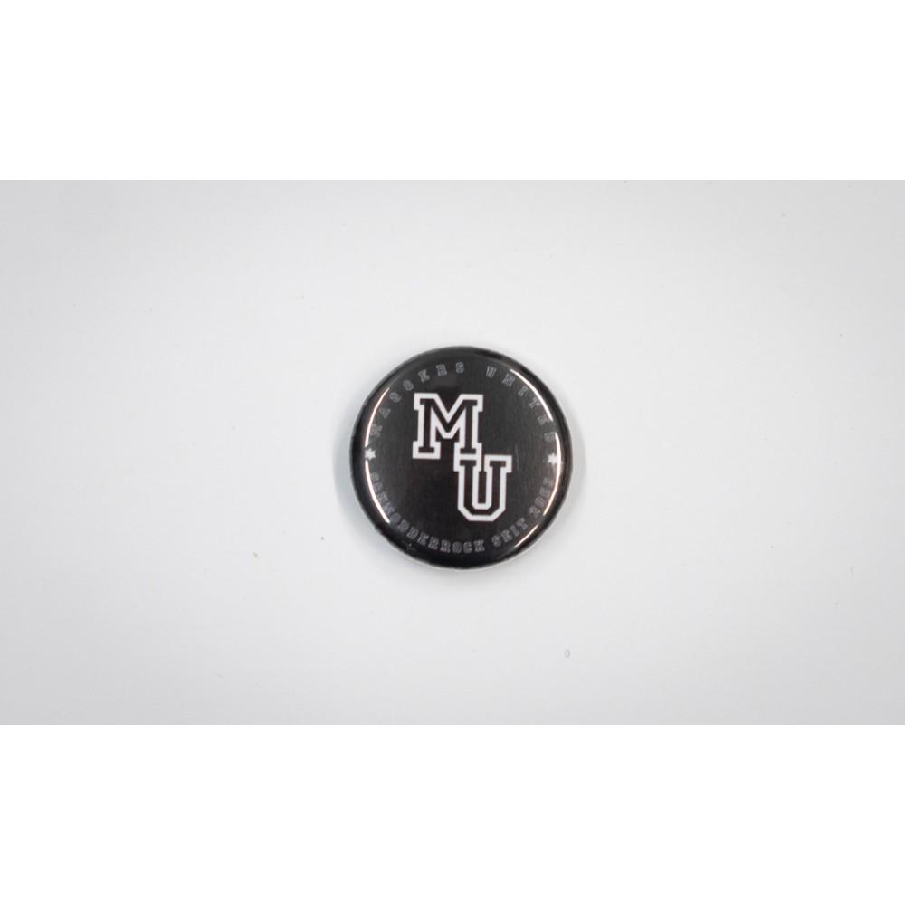Maggers United - Button schwarz