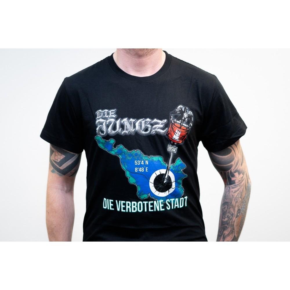 Hamburger Jungz - Die verbotene Stadt - T-Shirt
