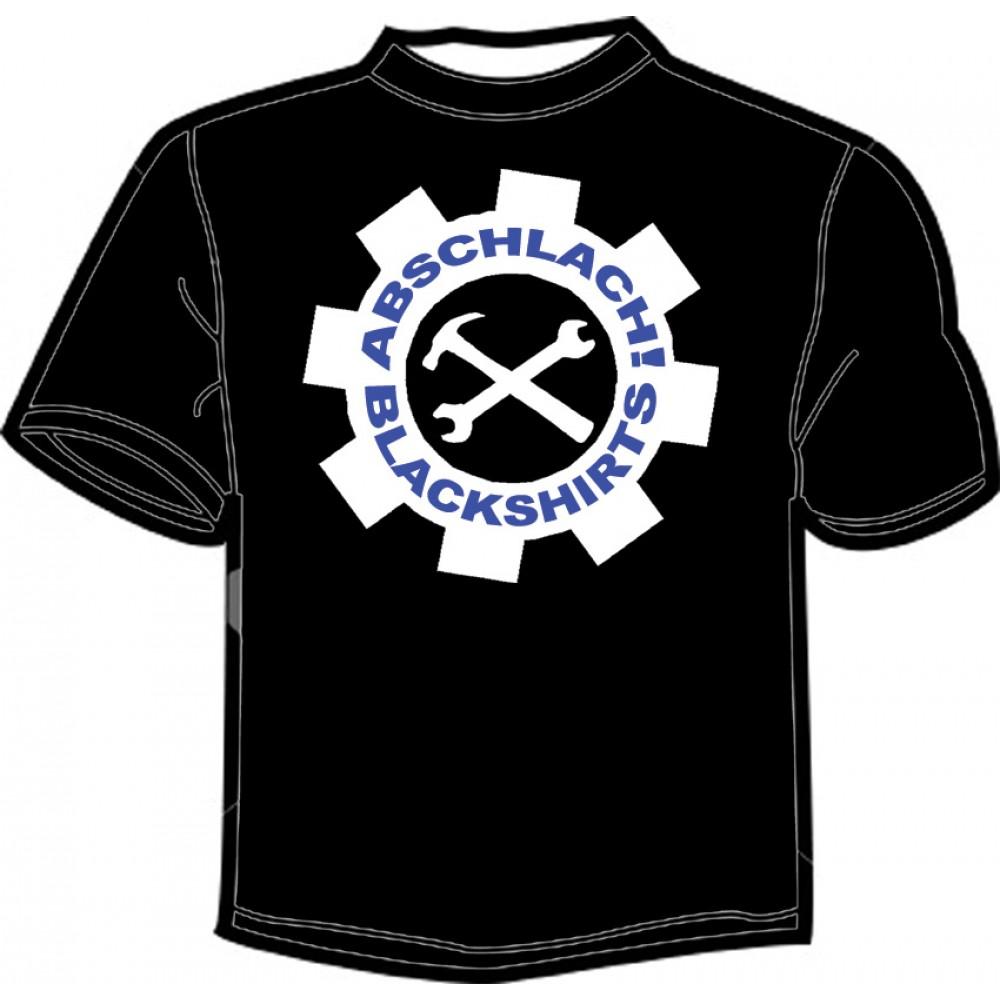 Abschlach! Blackshirts - Girlieshirt