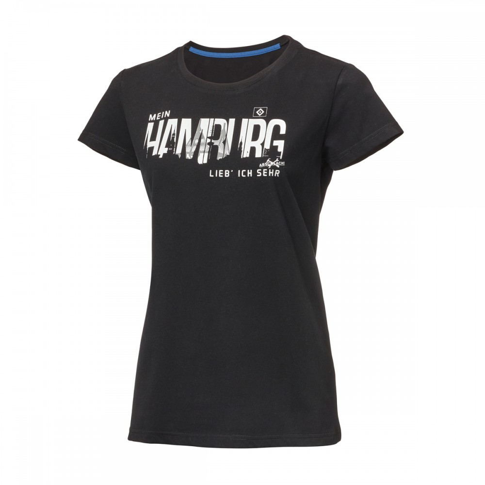 """HSV Damen-Shirt """"Mein Hamburg - Abschlach!"""""""