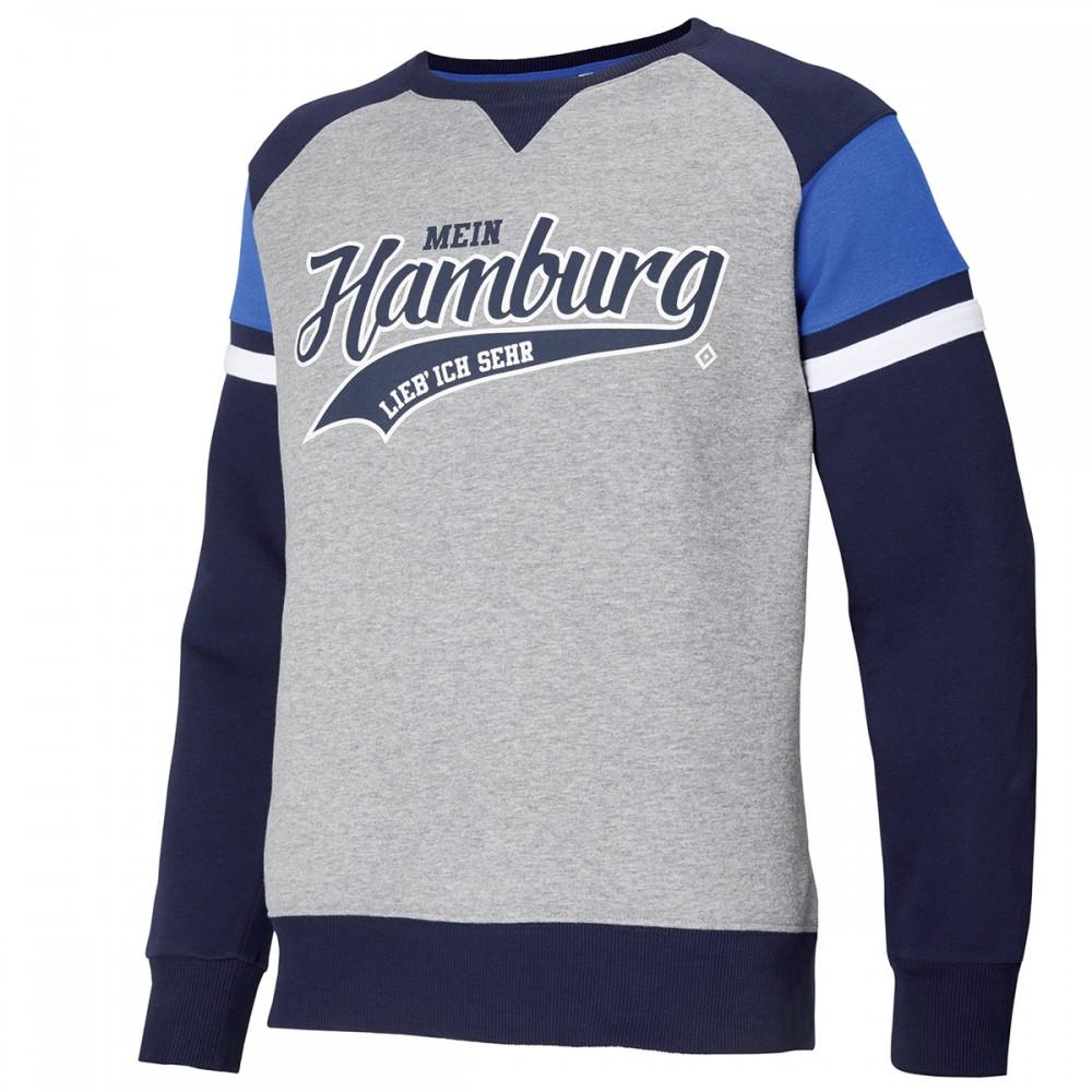 """HSV Sweatshirt """"Mein Hamburg lieb ich sehr"""""""