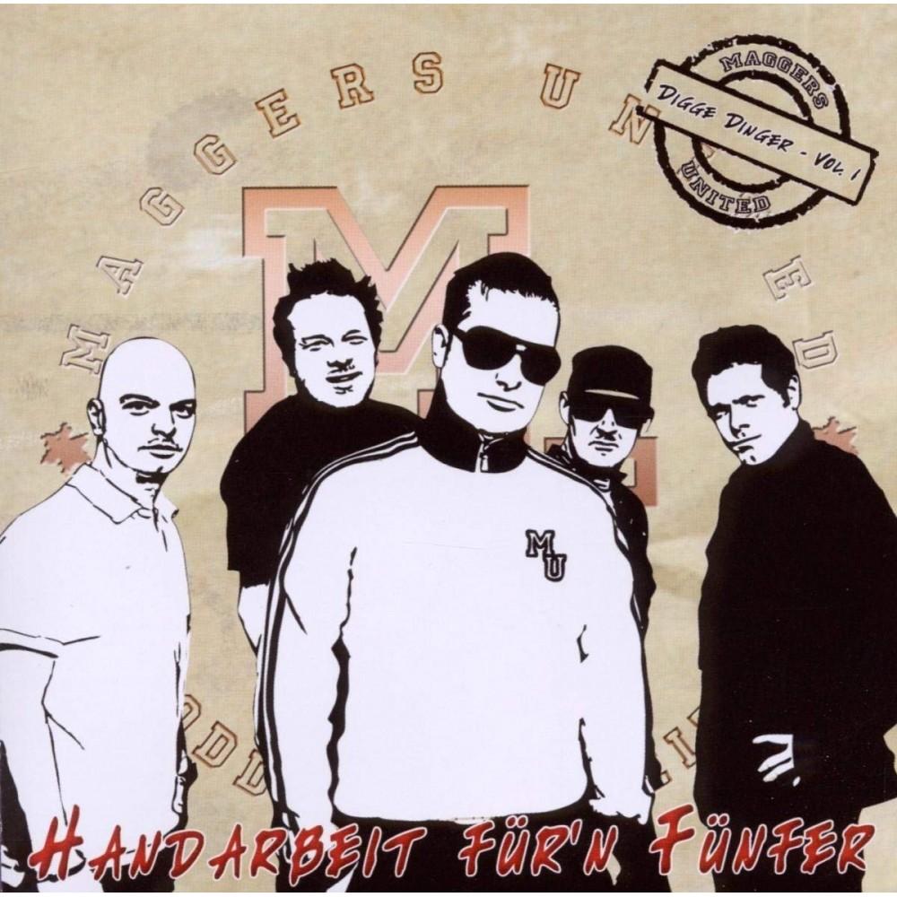 Maggers United - Handarbeit fürn Fünfer - CD (EP)