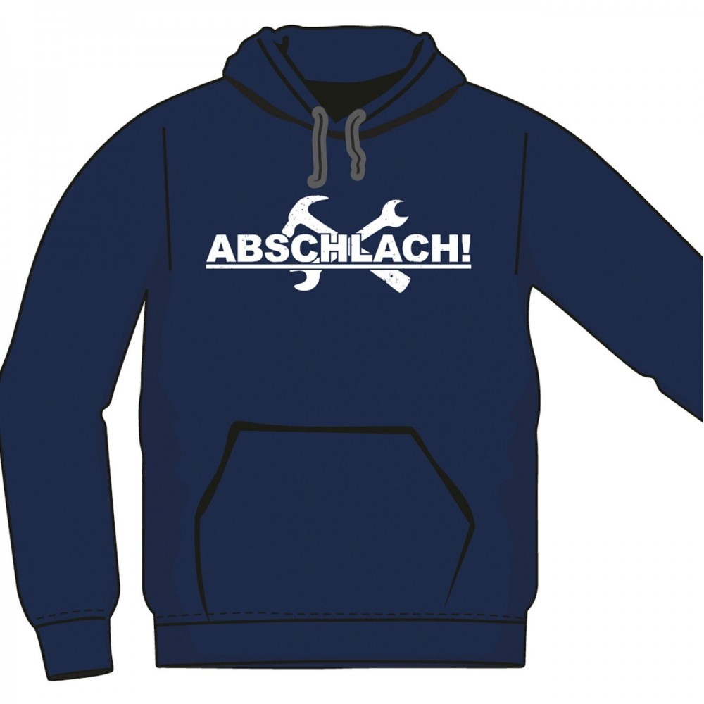 Hoodie Abschlach!-Logo