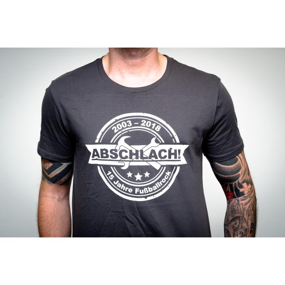 15 Jahre Fußballrock - T-Shirt Abschlach!