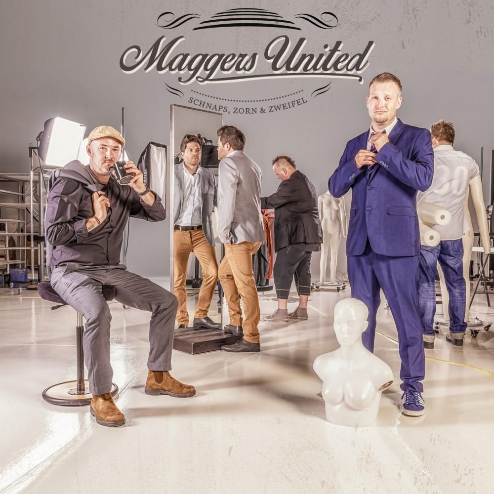 Maggers United - Schnaps, Zorn & Zweifel - CD