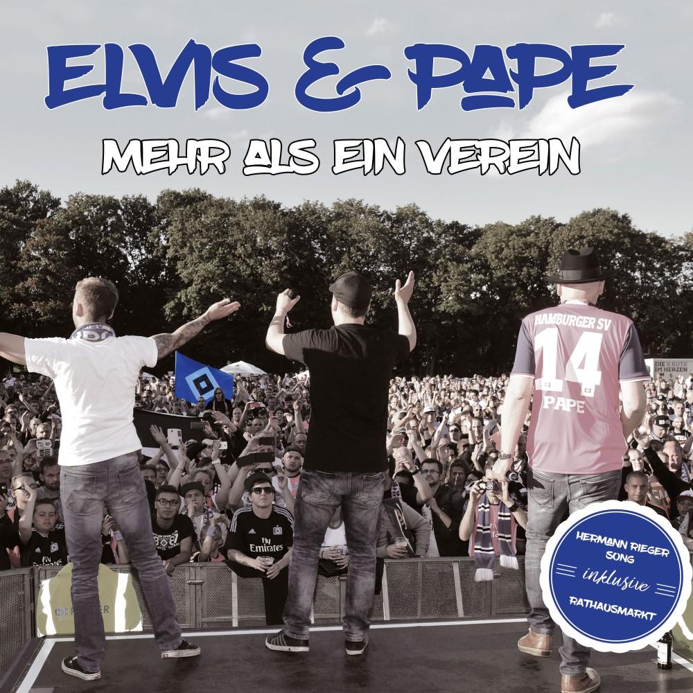 Elvis & Pape - Mehr als ein Verein - Maxi CD